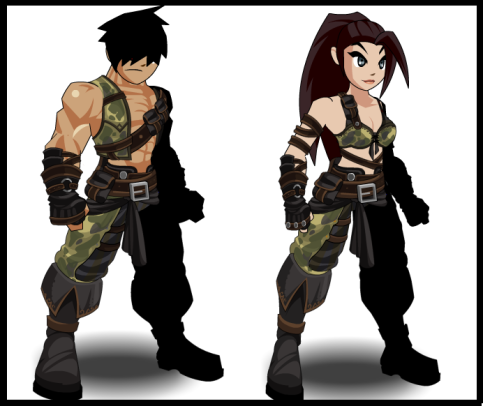 Amazon warrior... male e female