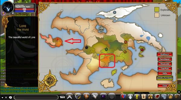 Mapa alterado