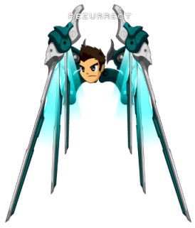 blade jet wings