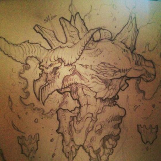 Parte do desenho do Dage!
