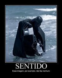 Quem nunca roubou agua da praia vestido de darth vader ai não teve infancia!
