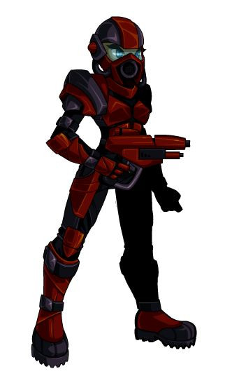 armor memete femael