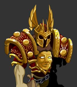 segunda parte, armor com melhora nas cores e o helm oficial.