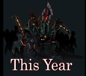 Esse ano, a gloriosa vokunity vira ao jogo...