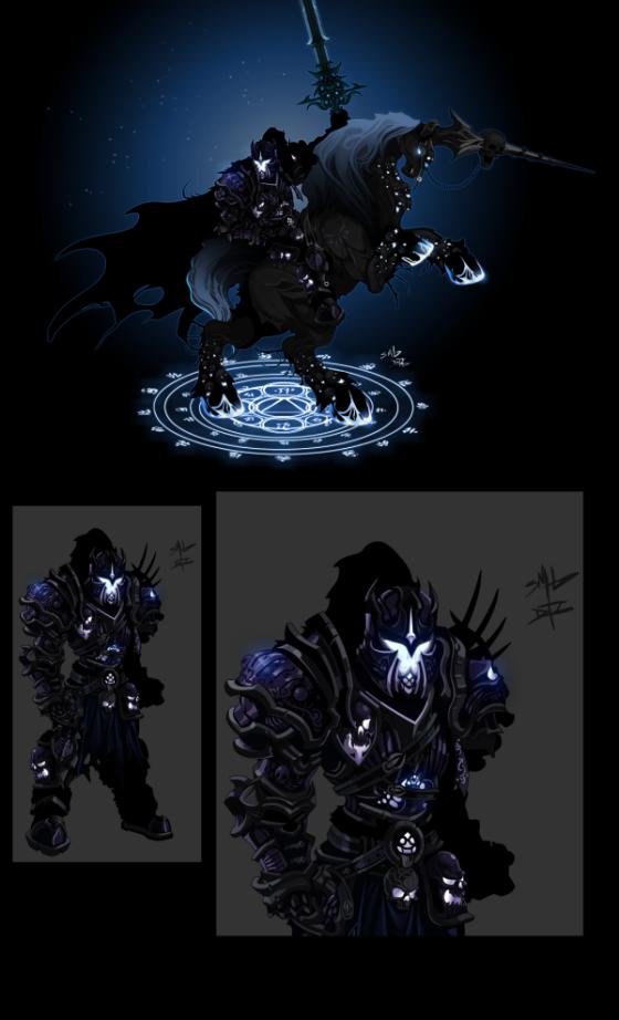 Os boatos eram verdadeiros. Essa Armor é mesmo a Nova Legion Class!!